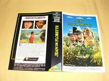 """JAQUETTE VHS """"Jean De Florette"""" Yves Montand Gerard Depardieu Daniel Auteuil"""