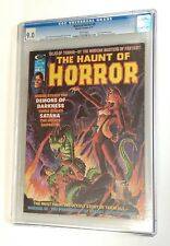 HAUNT OF HORROR #5 CGC High Grade 9.0 VF/NM RARE Magazine WHITE PGS. Satana 1975