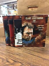 DVD-[3 Disc Set] Clint Eastwood Cop: Dirty Harry, Magnum Force, Tightrope - J49