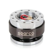New SPARCO Black Steering Wheel Quick Release Snap Off Boss Kit fit MOMO OMP