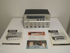 DYNACO SCA-80Q FM-5 VINTAGE STEREO AMPLIFIER AMP TUNER 4 DIMENSIONAL