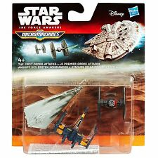 STAR WARS - MICRO MACHINES - 3 PACK - B3501 THE FIRST ORDER ATTACKS - NEW