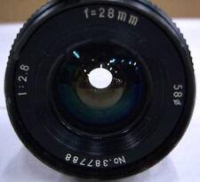 UPDATED INFO ! Vintage  Formula 5 MC 28mm F2.8 Lens Made in Japan DSLR BMPCC GH2