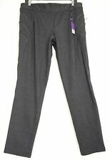 Lane Bryant pants ankle SZ 14 NWT gray black tummy control no gap waist skinny