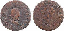 Louis XIII, double tournois, Riom 1624 - 143