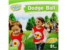 *NEW* Outdoor Fun - Dodge Ball - 2 Target Vests & 10 Sticky Balls - 5 Years Plus