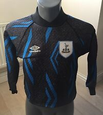 Authentic Tottenham Hotspur 1993-5 Large Boys Goalkeeper Jersey Football Shirt