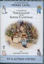 19333 // Béatrix Potter : Tom chaton  et Sophie Canetang - Dvd en Tbe