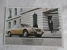 Daimler doppio sei. SOVRANO .3 .4. 4.2 1976 da collezione condizioni.