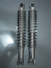 SCOOTER 150CC GY6 CHROME REAR ADJUSTABLE UPPER AND LOWER SHOCK ABSORBERS