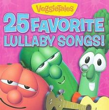 VEGGIETALES-25 FAVORITE LULLABY SONGS CD NEW