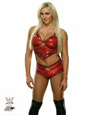 "WWE PHOTO CHARLOTTE FLAIR NEW OFFICIAL STUDIO WRESTLING 8x10"" PROMO"