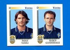 CALCIATORI PANINI 1997-98 Figurina-Sticker n. 594 -VANOLI-GIANDEBIAGG VERONA-New