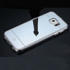 Luxury Slim Chrome Mirror Soft Gel TPU Full Cover Case For Samsung Galaxy Note