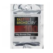 FastFire Bronzclay, Bronze Metal Clay - 100g packet