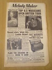 MELODY MAKER 1955 APRIL 23 GLENN MILLER STORY BILLY ECKSTINE ROSEMARY CLOONEY