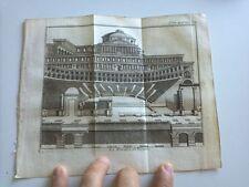 1743 Rogissart Les Delices de L'Italie: Veduta Teatro di Verona, Verone Italia