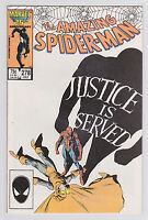 Amazing Spider-Man #278 Marvel Comics Hobgoblin appearance Justice is Served