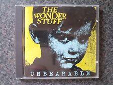 The Wonder Stuff 'Unbearable' UK CD Single Reissue *RARE & DELETED*