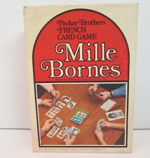 Mille Bornes 1971 French Driving Card Game 1971 Vintage