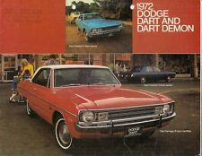 Dodge Dart 1972 USA Market Sales Brochure Demon 340 Swinger Custom