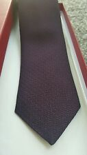 Salvatore Ferragamo Purple Evening Luxury Silk Tie RRP £130 *BEST OFFER*