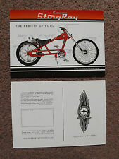 Schwinn Stingray Promotional Card