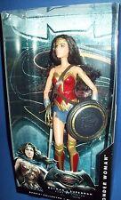 BARBIE COLLECTOR Black Label Doll Batman v Superman Dawn of Justice WONDER WOMAN