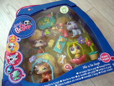 "littlest Petshop 4erSet""mit 1451 Tiger Cat"" In The Jungle""LPS""Katze~Sammlung~NEU"