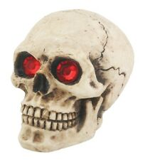 NEW! Skull Skeleton Shift Shifter Knob with Red Eyes Stones Car Auto Resin 5993