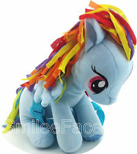 My Little Pony Rainbow Dash Plush Backpack Purse Stuffed Plush Pony Handbag
