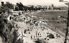 CPA 06 GOLFE JUAN   la plage