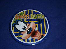Disney's Goofy's Kitchen Pinback Button Character Dining at Disneyland Hotel 3in