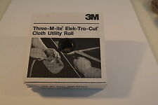 "New 500 grit  3M  ELEK-TRO-CUT Cloth Utility Shop Roll 1 1/2"" x 50 Yd WR.12aA4-6"