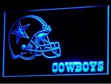 LED Neon light sign Football NFL Sports Dallas Cowboys