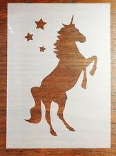 A5 UNICORNO Stencil MASK riutilizzabili MYLAR Fogli per Arts and Crafts, fai da te