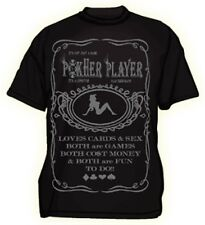 Mens poker player Tshirt new xxl