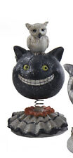 Halloween Bobble Heads- Black Cat by K&K Interiors  #40357A