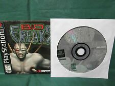 Bio Freaks (Sony PlayStation 1, 1998) Disc and Manual Only