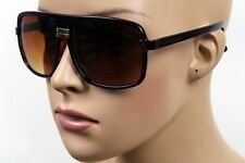 NEW MEN'S OR WOMEN'S RETRO SPORT FASHION AVIATOR BROWN SHADES SUNGLASSES KS-027