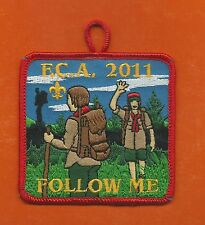 SCOUT BSA FRED C ANDERSEN CAMP 2011 PATCH HIKING NORTHERN STAR COUNCIL MN WI !!!