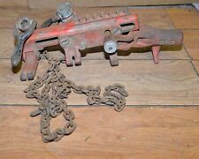 Ridgid chain vise C-1071 wrench pipe puller soil assembly tool plumbers