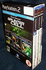 TRILOGIA TOM CLANCY'S SPLINTER CELL TRILOGY -   3 GIOCHI - PlayStation 2 PS2