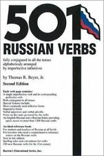 501 Russian Verbs Barron's English and Russian Edition