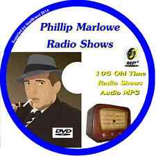 Adventures of Philip Marlowe 105 OTR Old Time Radio Episodes Audio MP3 on DVD