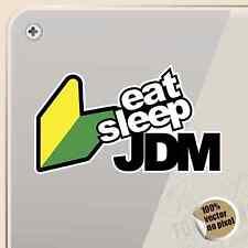 PEGATINA JDM EAT SLEEP CAR VINYL STICKER DECAL AUFKLEBER AUTOCOLLANT