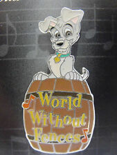 Disney Magical Musical Moments Trading Pin #96 World Without Fences Lady & Tramp