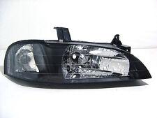 Mazda 323 Protege 95-98 Crystal Headlight Black for Maz