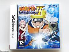 NARUTO Ninja Destiny II/2 ~ NINTENDO DS/DSi/3ds jeu ~