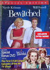 BEWITCHED (MOVIE) + (TV SAMPLER) - (2) DVD SET WITH WRAPPER - STILL SEALED